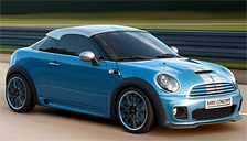 Mini Coupe JCW Alloy Wheels and Tyre Packages.