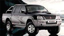 Mitsubishi L200 Alloy Wheels and Tyre Packages.