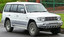 Mitsubishi Shogun Alloy Wheels and Tyre Packages.
