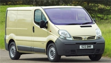 Nissan Primastar Van Alloy Wheels and Tyre Packages.