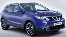 Nissan Qashqai Alloy Wheels and Tyre Packages.