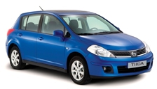 Nissan Tiida Alloy Wheels and Tyre Packages.