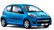 Peugeot 107 Alloy Wheels and Tyre Packages.