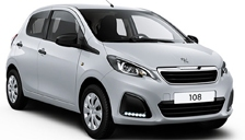 Peugeot 108 Alloy Wheels and Tyre Packages.