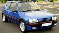 Peugeot 205 Alloy Wheels and Tyre Packages.