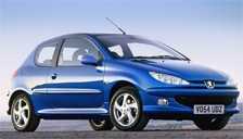 Peugeot 206 Alloy Wheels and Tyre Packages.