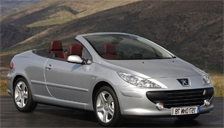 Peugeot 307 CC Alloy Wheels and Tyre Packages.