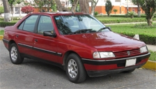 Peugeot 405 Alloy Wheels and Tyre Packages.