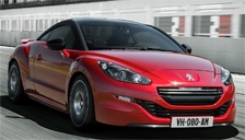 Peugeot RCZ-R Alloy Wheels and Tyre Packages.