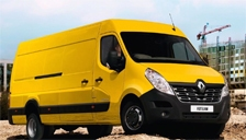 Renault Master Van Alloy Wheels and Tyre Packages.