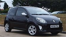 Renault Twingo GT Alloy Wheels and Tyre Packages.