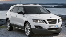 Saab 9 4X Alloy Wheels and Tyre Packages.