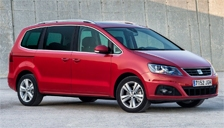 Seat Alhambra Alloy Wheels and Tyre Packages.
