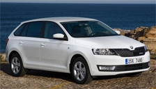 Skoda Rapid Spaceback Alloy Wheels and Tyre Packages.