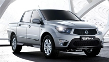 Ssangyong Actyon Alloy Wheels and Tyre Packages.
