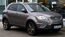 Ssangyong Korando Alloy Wheels and Tyre Packages.
