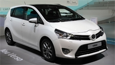 Toyota Verso Alloy Wheels and Tyre Packages.
