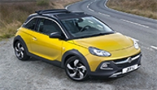 Vauxhall Adam Rocks Alloy Wheels and Tyre Packages.