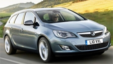 Vauxhall (Opel) Astra ST Alloy Wheels and Tyre Packages.