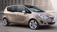Vauxhall (Opel) Meriva Alloy Wheels and Tyre Packages.