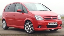 Vauxhall (Opel) Meriva VXR Alloy Wheels and Tyre Packages.