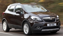 Vauxhall (Opel) Mokka Alloy Wheels and Tyre Packages.