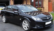 Vauxhall (Opel) Vectra VXR Alloy Wheels and Tyre Packages.