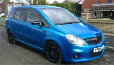 Vauxhall Zafira VXR Alloy Wheels and Tyre Packages.