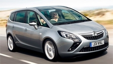 Vauxhall (Opel) Zafira Alloy Wheels and Tyre Packages.