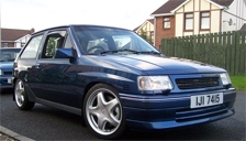 Vauxhall Nova Alloy Wheels and Tyre Packages.