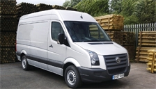 Volkswagen Crafter CR35 (3.5 Ton) Alloy Wheels and Tyre Packages.