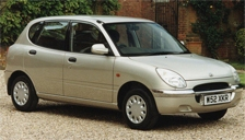 Daihatsu Sirion Alloy Wheels and Tyre Packages.