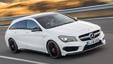 Mercedes CLA Shooting Brake Alloy Wheels and Tyre Packages.