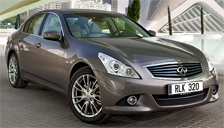 Infiniti G37 Alloy Wheels and Tyre Packages.
