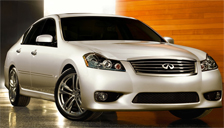 Infiniti M35 M45 Alloy Wheels and Tyre Packages.