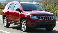 Jeep Compass Alloy Wheels and Tyre Packages.