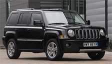 Jeep Patriot Alloy Wheels and Tyre Packages.