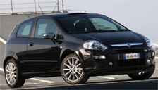 Fiat Punto Evo Alloy Wheels and Tyre Packages.