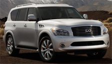 Infiniti QX56 Alloy Wheels and Tyre Packages.