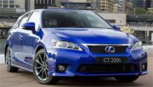 Lexus CT200 Alloy Wheels and Tyre Packages.