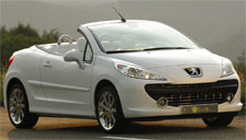 Peugeot 207 CC Alloy Wheels and Tyre Packages.