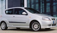 Chevrolet Kalos Alloy Wheels and Tyre Packages.