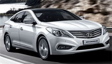 Hyundai Grandeur Alloy Wheels and Tyre Packages.
