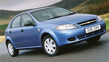 Chevrolet Lacetti Alloy Wheels and Tyre Packages.