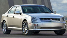 Cadillac STS Alloy Wheels and Tyre Packages.