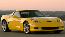 Chevrolet Corvette Z06 Alloy Wheels and Tyre Packages.