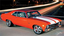 Chevrolet Nova Alloy Wheels and Tyre Packages.