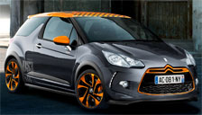 Citroen DS3 Racing Alloy Wheels and Tyre Packages.