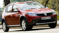 Dacia Sandero Stepway Alloy Wheels and Tyre Packages.