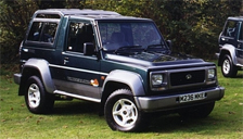 Daihatsu Fourtrak Rocky Alloy Wheels and Tyre Packages.